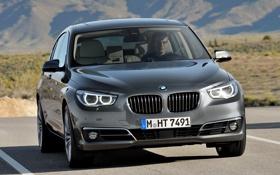 Картинка 535i, BMW, авто, передок, бмв, Gran Turismo, фары