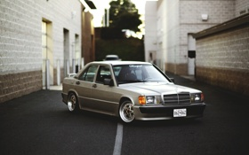 Обои Mercedes-Benz, stance works, W201, E190