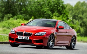 Картинка бмв, BMW, кабриолет, Cabrio, F12, UK-spec, 2015
