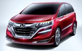 Картинка Concept, концепт, Honda, хонда, передок
