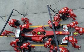 Обои Formula1, замена, гонщики, чемпионат, команды, заправка, автоспорт