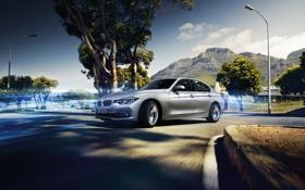 Обои бмв, BMW, седан, Hybrid, F30, Sedan, 2015