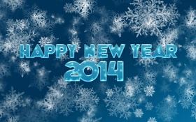 Обои Новый год, Happy New Year, 2014