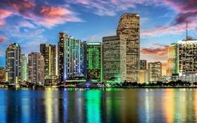 Обои дома, Майами, Флорида, США, Америка, Miami, Florida