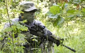 Обои оружие, армия, солдат