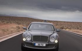 Обои движение, скорость, cars, auto, обои авто, Photography, Bentley Mulsanne
