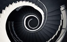 Картинка конструкция, лестница, ступени, поручни, разное, порожки
