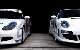 Обои фото, Supercars, Porshe, тачки, auto, white, cars