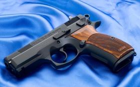 Обои Пистолет, Обои, Фон, Оружие, Wallpapers, Полотно, Weapons