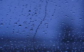 Обои стекло, капли, макро, фото, дождь, обои, wallpapers