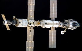 Картинка спутник, станция, орбита, МКС