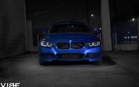 Обои BMW, оптика, перед, 335i, F30, Avant, Garde
