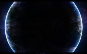 Обои звезды, свет, планета, Земля