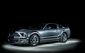 Обои ночь, Ford, MustangGT