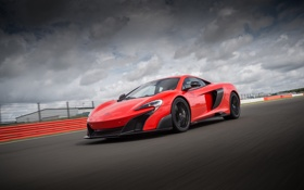 Обои McLaren, макларен, US-spec, 2015, 675LT