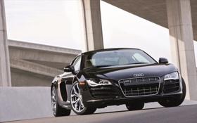 Обои Audi R8, cars, auto, cars walls, supercars, обои авто, wallpapers audi
