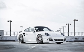 Картинка Turbo, Porsche, 997, порше, турбо, white, белый