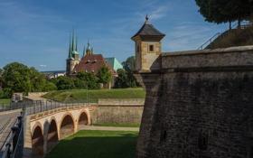Картинка пейзаж, Германия, Эрфурт