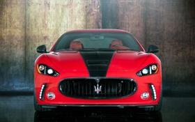 Картинка мазерати, мансори, GranTurismo, гран туризмо, Maserati, Mansory, red