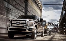 Обои Ford, форд, пикап, Super, pick-up, Duty, F-250