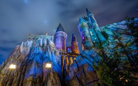 Картинка Hogwarts, Harry Potter, universal studios florida, Wizarding World