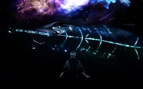 Картинка mass effect, illusive man, Reaper