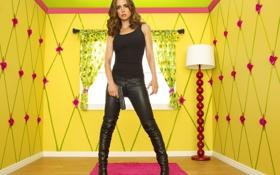 Обои Сериал, Eliza Dushku, в желтой комнате, Кукольный Дом