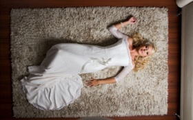 Картинка ковёр, Jana Cova, свадебное платье