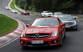 Картинка car, mercedes-benz, auto, amg, sl-klasse