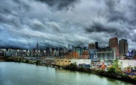 Обои нью-йорк, Manhattan, new york, usa, nyc