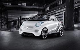 Обои смарт, hi-tech, concept, smart forspeed, концепт, 2011