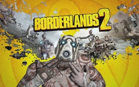 Обои игра, 2K Games, Borderlands 2, Gearbox Software