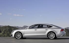 Картинка widescreen wallpapers, Audi, фото, ауди а7, тачки, машины, пейзажи