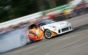 Обои Nissan, Drift, 350Z