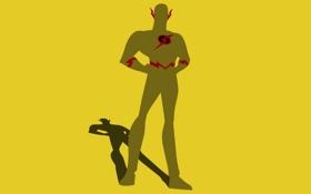 Обои Флэш, супер герой, DC Comics, Flash