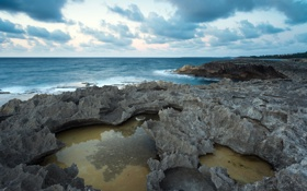 Картинка пейзаж, скалы, море