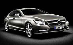 Обои 350, Mercedes-Benz, CLS, 2010