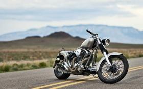 Обои дорога, мотоцикл, ChingonVolcano