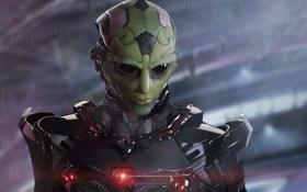 Картинка герой, mass effect 2, персонаж, Thane Krios