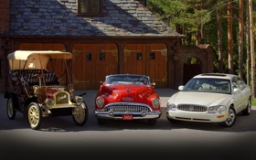 Обои 1953, and, 1905, 2005, mixed, Buick, Skylark