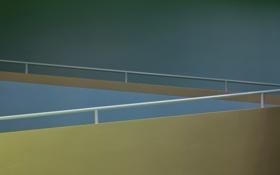 Обои стена, минимализм, перила