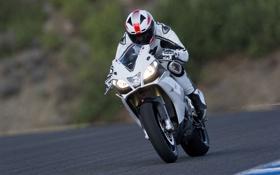 Картинка дорога, асфальт, спорт, скорость, aprilia, SRV4 R с мотоциклами