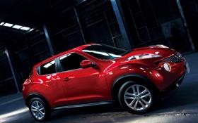 Картинка Красный, Машина, Ниссан, Машины, Nissan, Red, Car