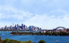 Обои город, сидней, австралия