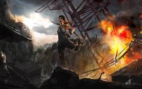 Обои Tomb Raider, Лара Крофт, Расхитительница гробниц