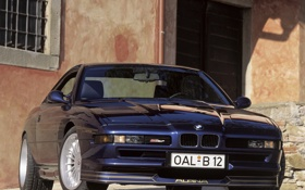 Обои машина, передок, 1992, Alpina, BMW E31, B12 5.7