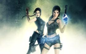 Обои Doppelganger, lara croft, Tomb Raider: Underworld