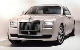 Картинка фары, Rolls-Royce, решетка, эмблема, лимузин, ролс ройс