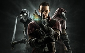 Обои assassins, dlc, dishonored, knife of dunwall