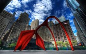 Картинка здания, Чикаго, Chicago